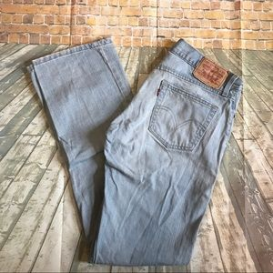Men's jeans Levi's size w32 L34 slim straight